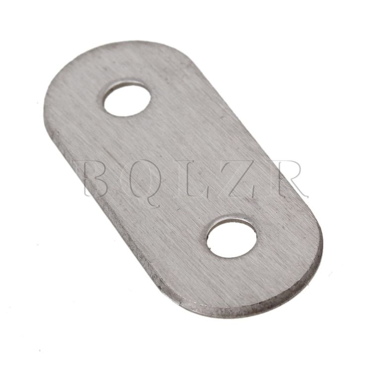 $4.21 (Buy here: https://alitems.com/g/1e8d114494ebda23ff8b16525dc3e8/?i=5&ulp=https%3A%2F%2Fwww.aliexpress.com%2Fitem%2F10pcs-38mm-Flat-Steel-Brackets-Straight-Mending-Plates-Repair-Fixing-Joining%2F32407379845.html ) BQLZR 10pcs 38mm Flat Steel Brackets Straight Mending Plates Repair Fixing Joining for just $4.21