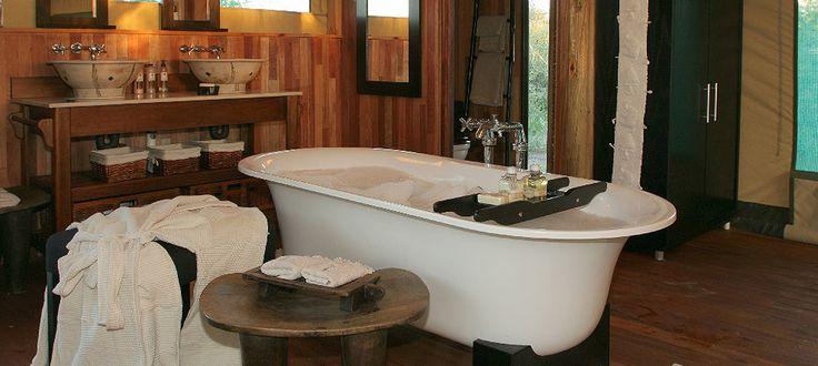 #SafarLodge bathroom at Haina