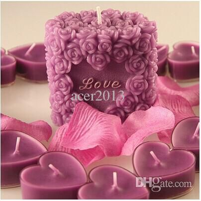 Wholesale Romantic Surprise Package Creative Birthday Candles Do Marry Wedding Valentine'S Day Purple Roses Buy Candles Buy Online Candles From Burty, $11.18  Dhgate.Com