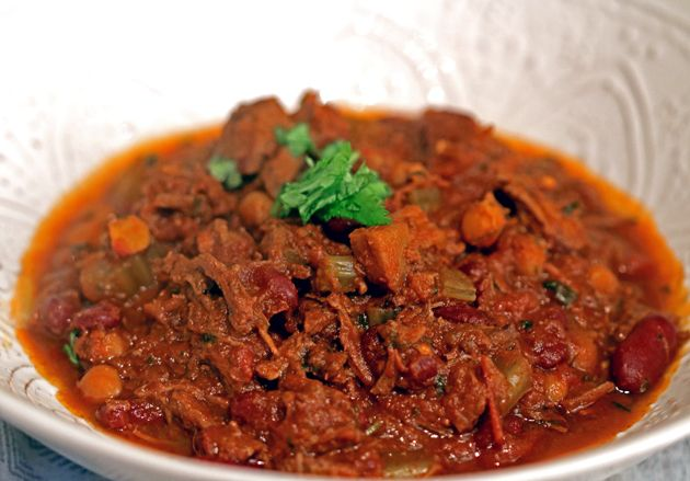 steak and chorizo chilli