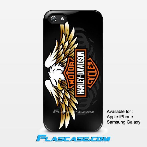 Harley Davidson Eagle Logo Apple iPhone 4/4s 5/5s 5c 6 6 Plus Samsung Galaxy S3 S4 S5 S6 S6 EDGE Hard Case
