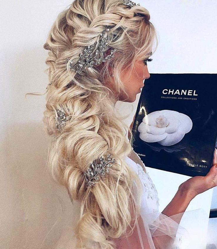 50 Hochzeit Frisuren Sie lieben, lange Haare, kurze Haare, lockiges Haar, natürliche …   – Hair Styles