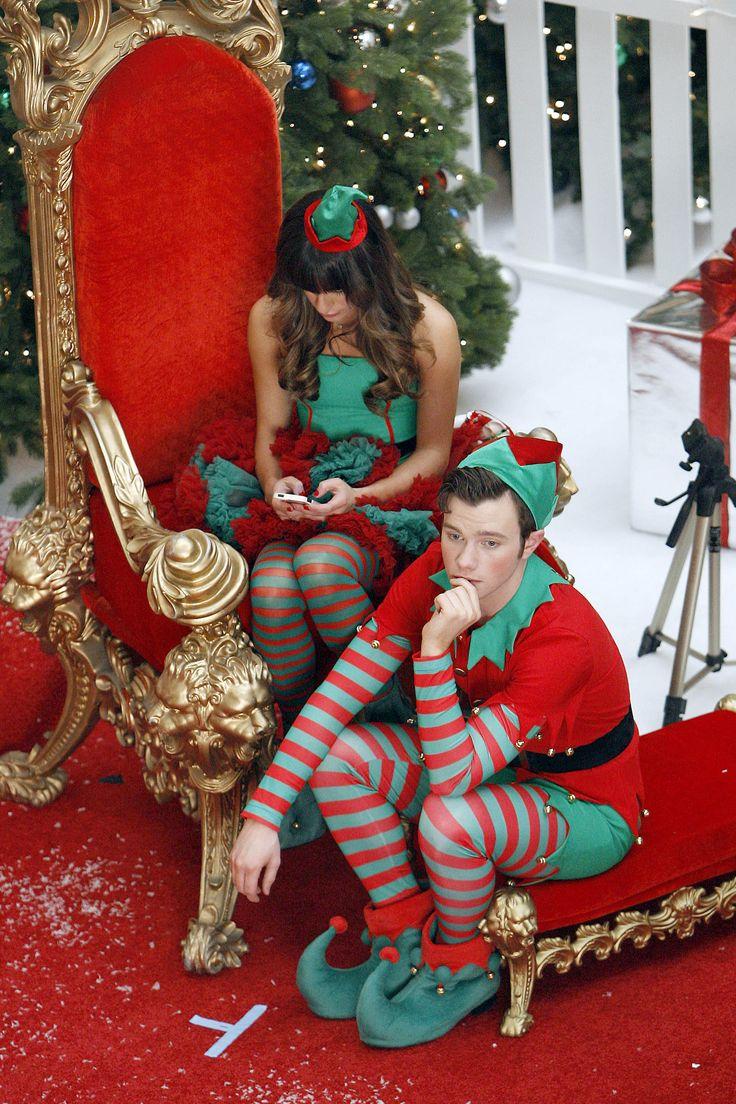 51 best Christmas Glee images on Pinterest | Glee, Chris colfer ...
