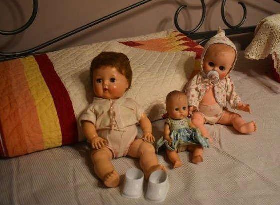 Found on EstateSales.NET: Vintage Dolls, Character Doll