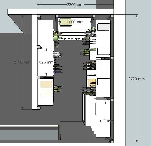 Wij ontwerpen uw ideale inloopkast op maat | Anyway Doors