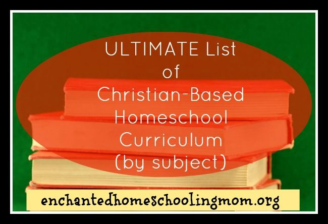All of the research has been done for your homeschooling curriculum where you will find all the links provided in this ultimate list of Christian-based homeschool curriculum.