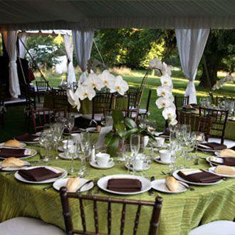decoracion boda verde mesa manteleria decoracion de boda verde