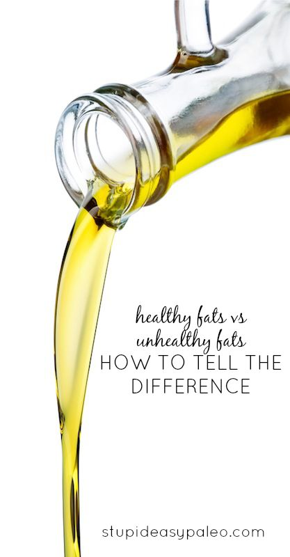 Healthy Fats vs Unhealthy Fats: How to Tell the Difference | stupideasypaleo.com #paleo #realfood