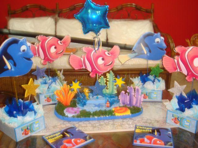 Centro de mesa de Nemo y Dory para cumpleaños infantiles - https://xn--manualidadesparacumpleaos-voc.com/centro-de-mesa-de-nemo-y-dory-para-cumpleanos-infantiles/