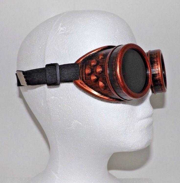 Cosplay Steampunk Goggles Glasses Welding Motocross Cosplay Biker Sunglasses