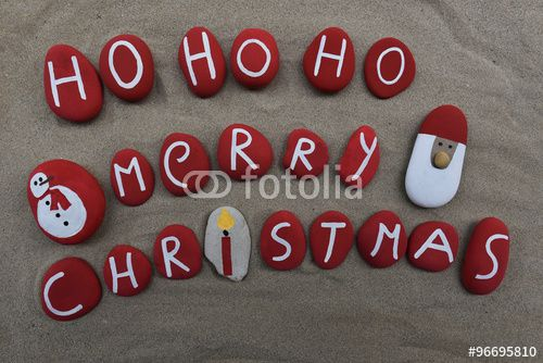 """Download the royalty-free photo """"Ho ho ho, Marry Christmas"""" created by Ciaobucarest at the lowest price on Fotolia.com. Browse our cheap image bank online to find the perfect stock photo for your marketing projects!"""