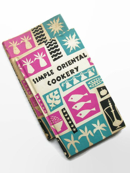 Retro Asian Cookbook, Simple Oriental Cookery, Vintage Cookbook, 1960s Cookbook, Chinese Food