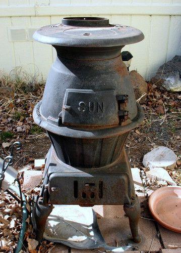 Antique King Stove And Range Quot Sun Quot No 60 Pot Belly Stove