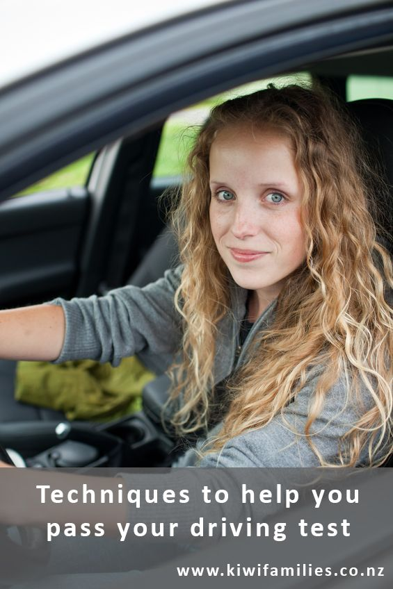 Techniques to help you pass your driving test - Kiwi Families