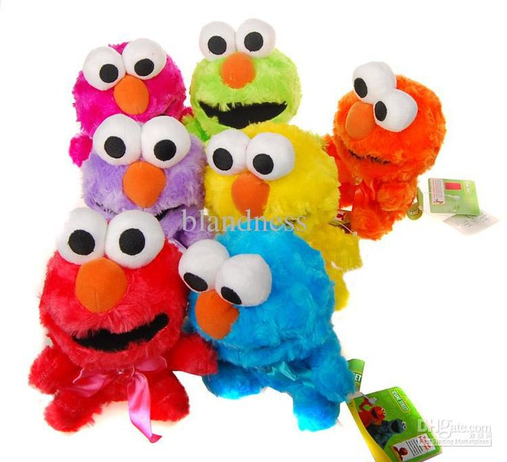 Wholesale Baby Sesame street ELMO Toys Lovely Plush Doll Kids Cute Toys Christmas Gift 18CM Blandness, Free shipping, $6.02/Piece | DHgate Mobile