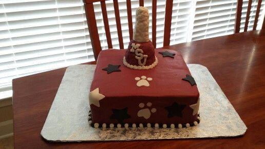 Cake Design Ulm : Mississippi state university cake My cakes Pinterest ...