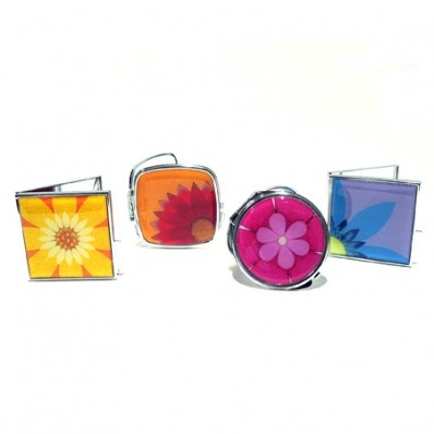 8 Best Compact Mirrors Wedding Favors Images On Pinterest