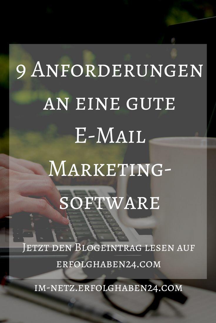 Wenn ihr es nun euren Lesern nun ermöglicht habt, sich mit ihrer E-Mail Adresse bei euch einzutragen, braucht ihr eine gute E-Mail-Marketingsoftware um all die E-Mail Adressen zu verwalten und euren Lesern zielgerichtet Informationen zukommen zu lassen. Die Wahl der Software ist dabei von großer Bedeutung, denn es geht um viel mehr, als nur um den Versand eines Newsletters. Welche Kriterien nun im Einzelnen wichtig sind, habe ich für euch in einem Blogeintrag zusammengefasst.