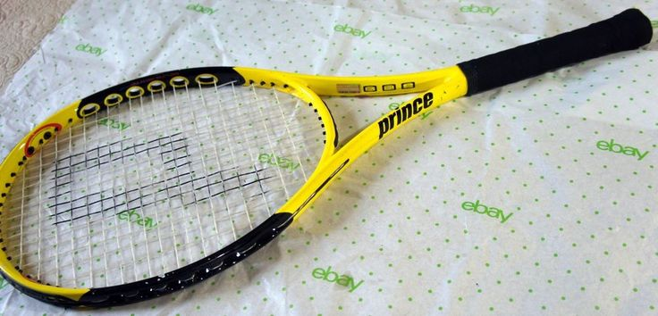 """Prince Air O Scream OS Tennis Racquet 4 1/8"""" Grip NICE!!!   Sporting Goods, Tennis & Racquet Sports, Tennis   eBay!"""