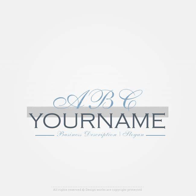 Design Logos Online with Our Free Alphabets logo maker