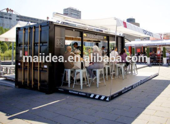 Nouvel an de certifié CE Mobile café, Plein air restauration rapide kiosque, Conteneurs coffee shop design-image-Maisons préfabriquées-Id du produit:60118952612-french.alibaba.com