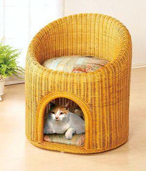 Кресло - кошкин дом