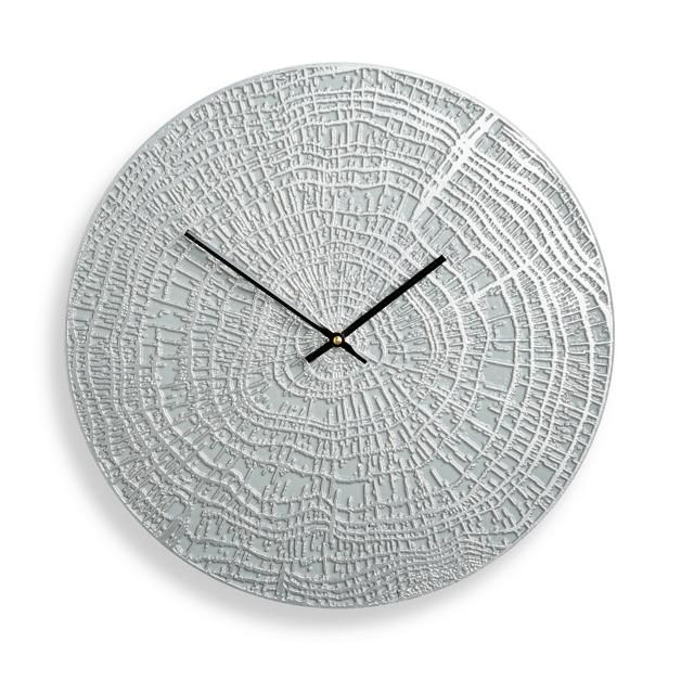High Quality End Grain Contemporary Clock By Porta Forma Idea