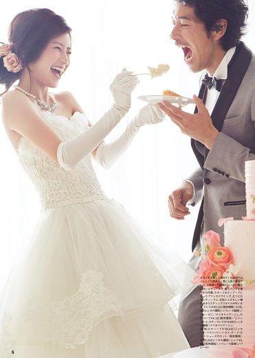 やっぱり欠かせないファーストバイト♡ #AneCan #森絵里香 #wedding #ウェディング