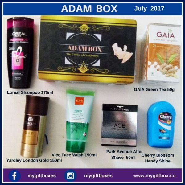 Adam Box My Gift Box Loreal Shampoo Body Skin Care Subscription Boxes For Men