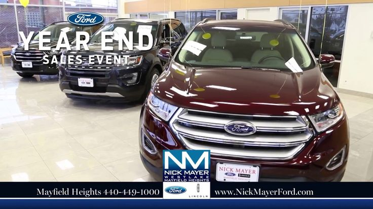 Buy a New Ford Fusion Maple Heights OH at Nick Mayer Ford - Our Year-End...
