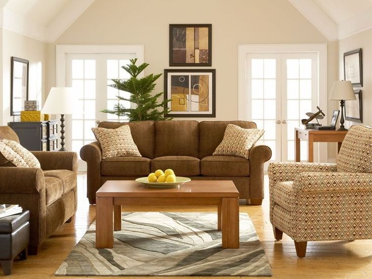 The Woodbine With Bainbridge Living Room Set Charms With Its Earthy Blend  Of Casual Contemporary And