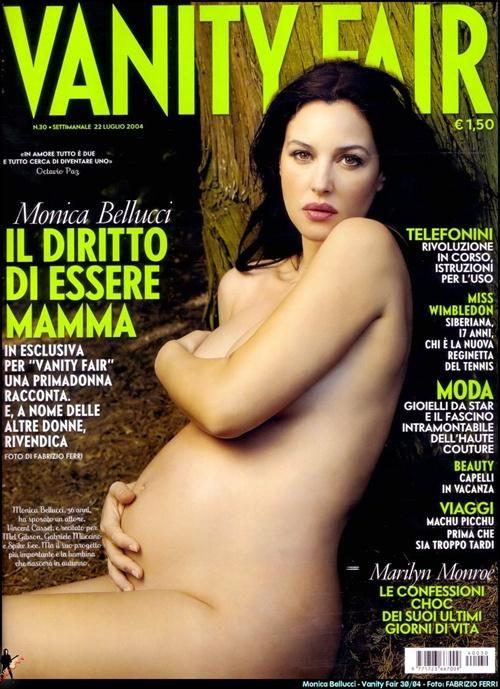 monica bellucci nude vanity fair magazine