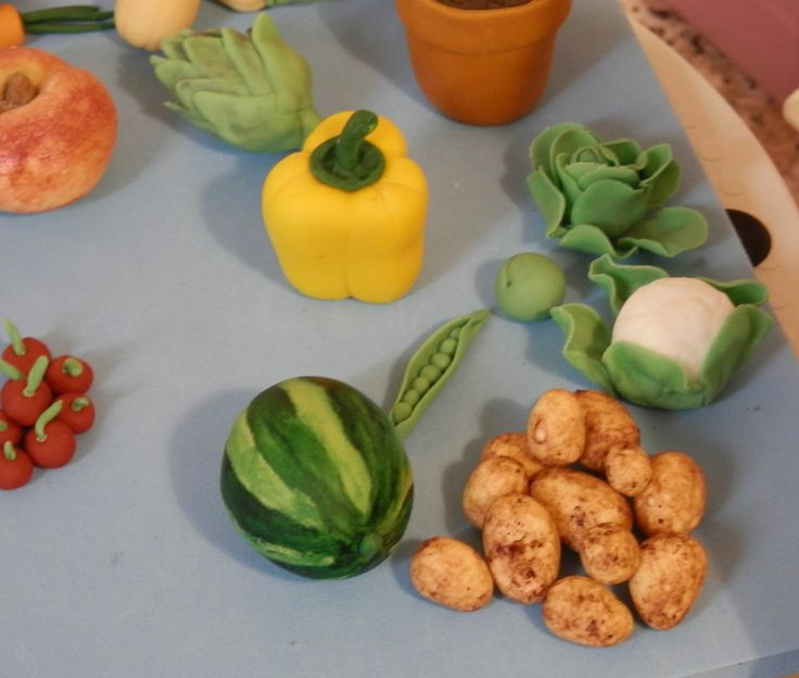 Vegetable Patch Check out our sugar crafted Vegetables over at #Beccles Crumbs of Joy on Facebook