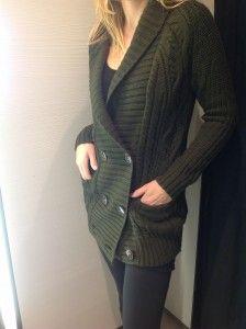Green cable long cardigan jersey R459- Zara  http://www.lipstickspin.com/blog/fashion-essentials/winter-jerseys/