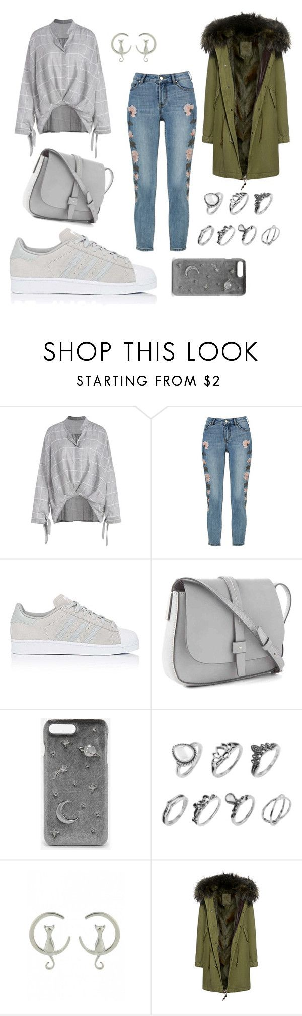 """Untitled #340"" by inesgenebra on Polyvore featuring beauty, adidas, Gap, CHARLES & KEITH and Mr & Mrs Italy"