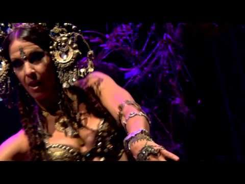 Deb Rubin Tribal Fusion Bellydance - Bali Spirit Festival 2015 - YouTube