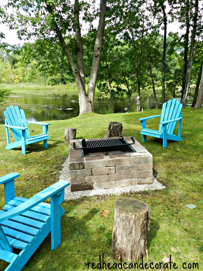 Easiest DIY Fire Pit You Will Ever Find