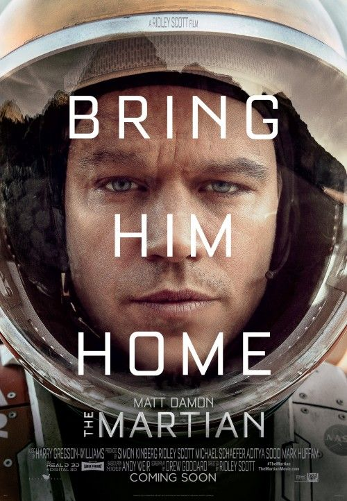 'The Martian', An Upcoming Film Adaptation of the Andy Weir Novel Starring Matt Damon