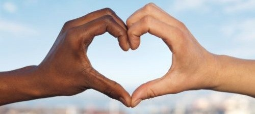 ...: Hand, Heart, Interracial Couples, Black And White, Color, Beautiful, Things, Photo