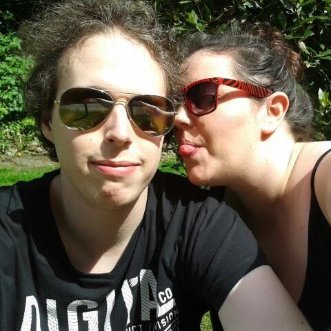 Me and my bub!!! Summer fun!