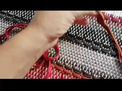 Emenda de fios de malha - YouTube