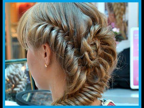 Прически на длинные волосы. Ажурная коса тонким плетениемhttps://www.youtube.com/watch?v=EkBBXPiNsk4