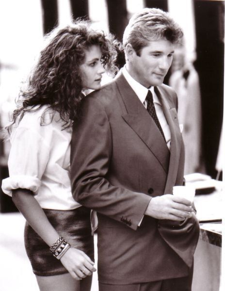 Movie Inspiration. Fashion films. Pretty Woman outfit. Leather miniskirt. | TheyAllHateUs