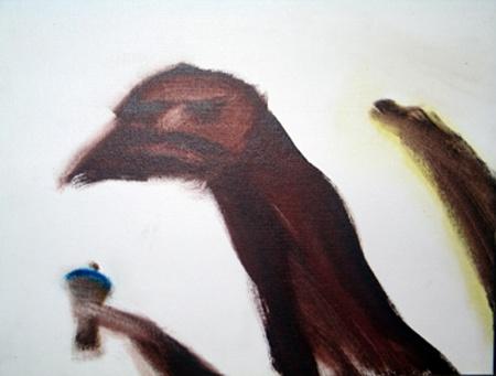 Tony Fomison: Time for an Icecream 1989