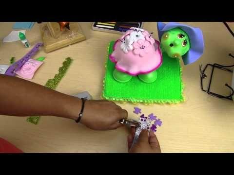 Tortuga de Foamy con Moldes Regalo Parte 3 - YouTube