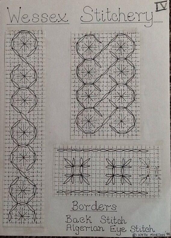 Wessex Stitchery notes (4) by Kath Morton