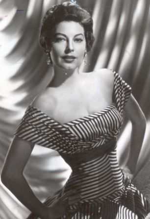 Classic beauty: Hollywood star Ava Gardner had a tempestuous love life