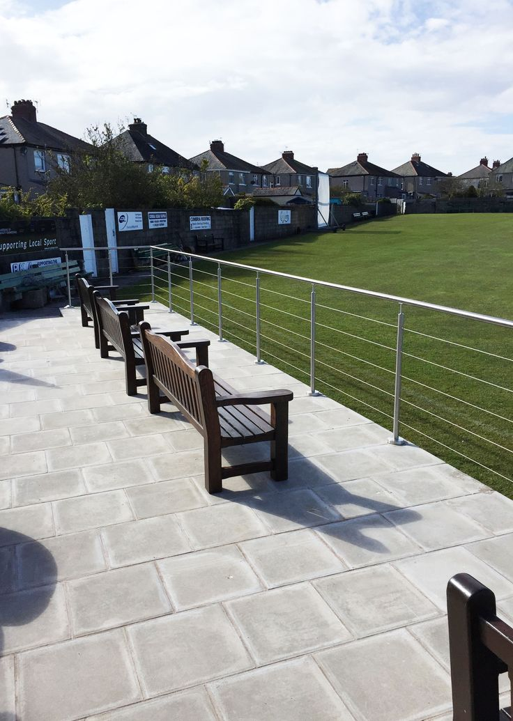 Wire Rope Balustrade System for Furness Cricket Club.