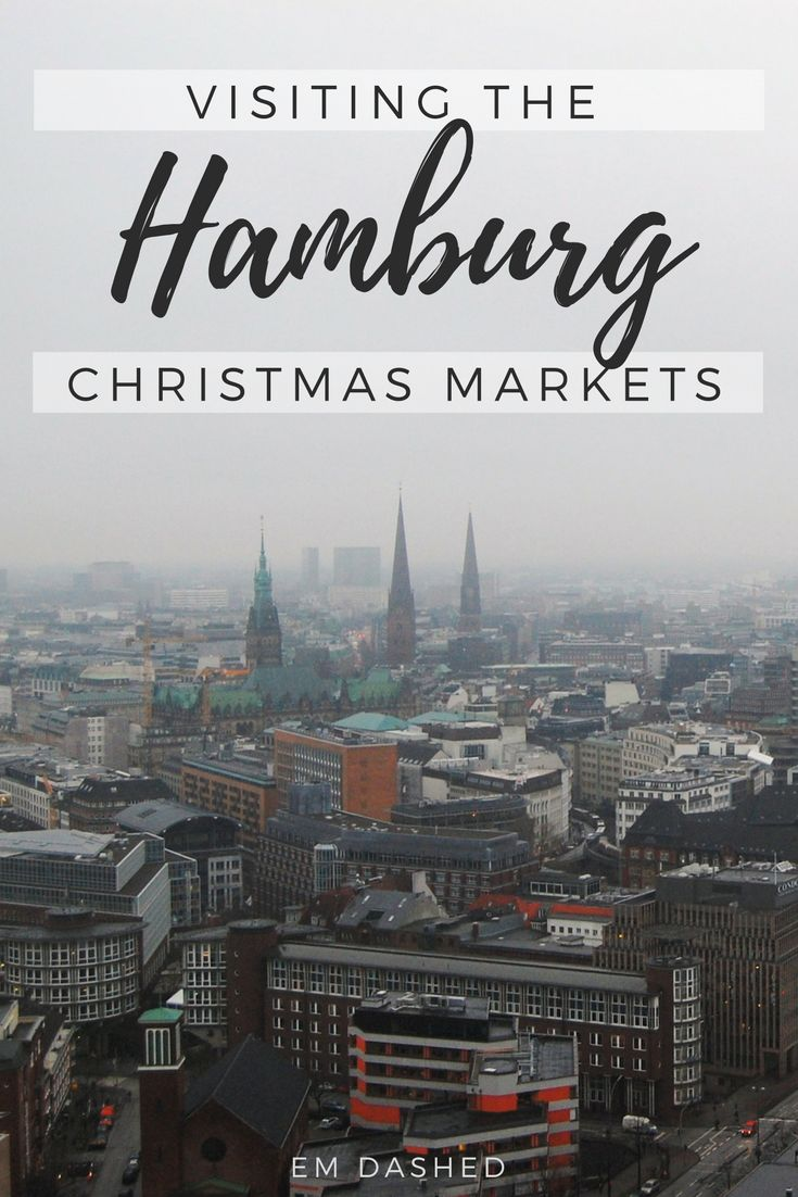 No one does a Christmas market quite like the Germans! Read about our time eating, drinking, and merrymaking at Hamburg's Weihnachtsmarkt. | #Hamburg #Germany #Weihnachtsmarkt