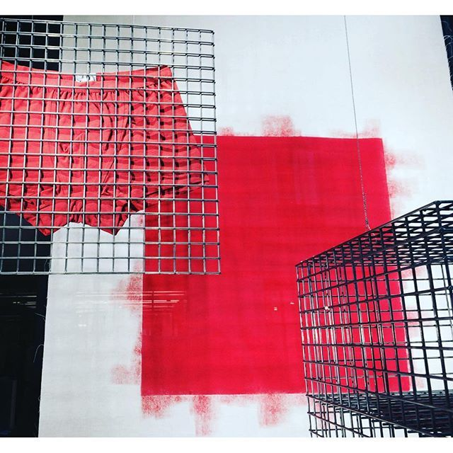 SHORTS ART @rue du dragon Paris. #red #style #frenchdesign #paris #iloveparis #trixigronau #myhomecouture #shorts #art #unique #underpants #dessous #picoftheday #instagramers #followme #instamood #new #newfashion #fashion #fashionista #love #underwear
